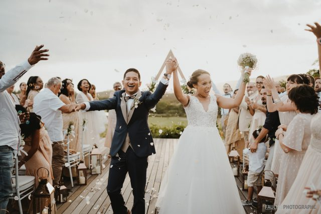 Un mariage à l'ile Maurice