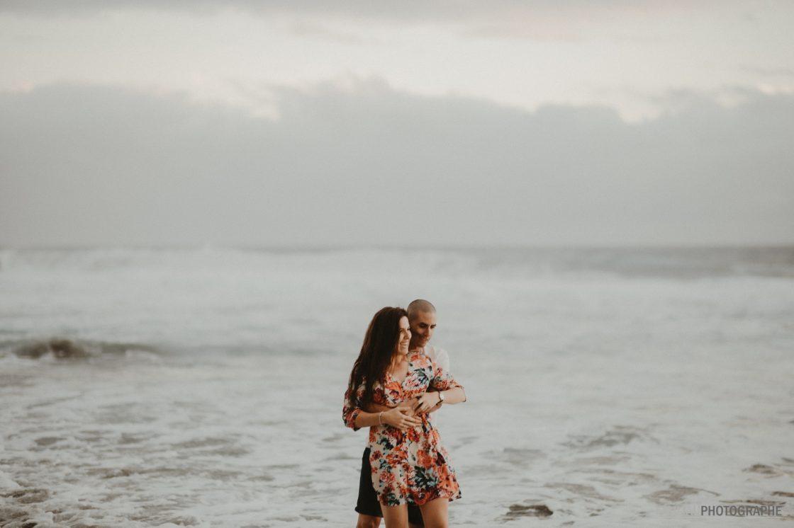 séance photo engagement ile de la Réunion